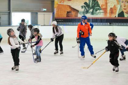 Schaatsen bij IJsbaan De Meent