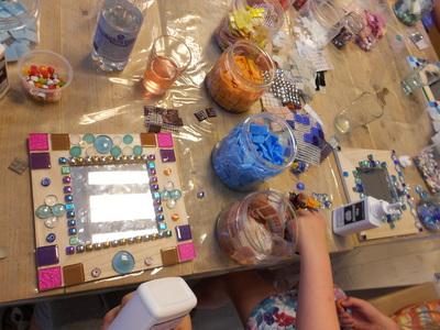 Knutselen, schilderen & Mozaiek bij Artisto