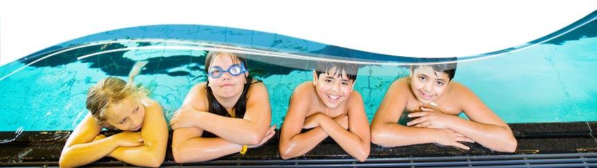 Zwemfeestje in het Marnixbad