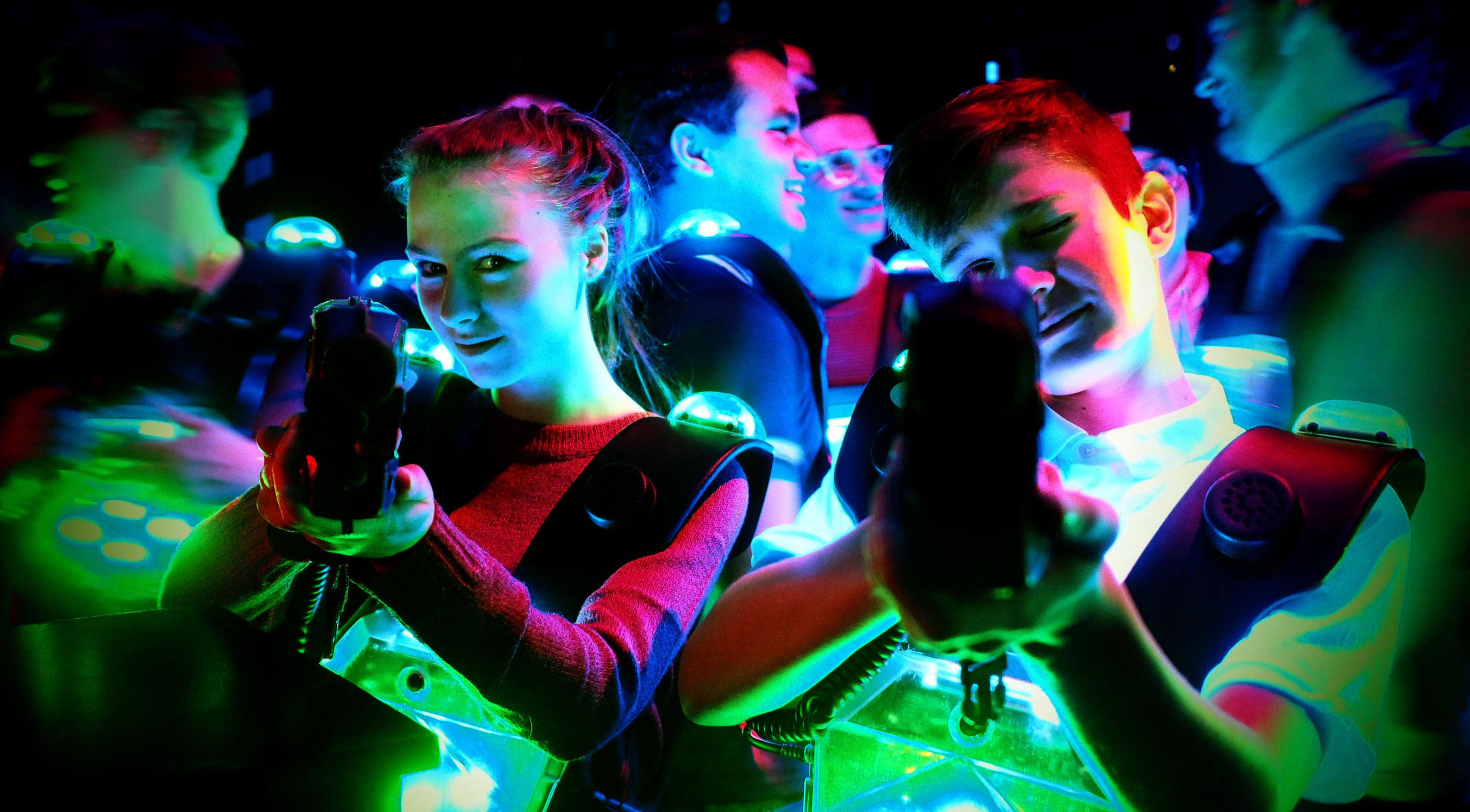 Lasergamen bij Powerzone