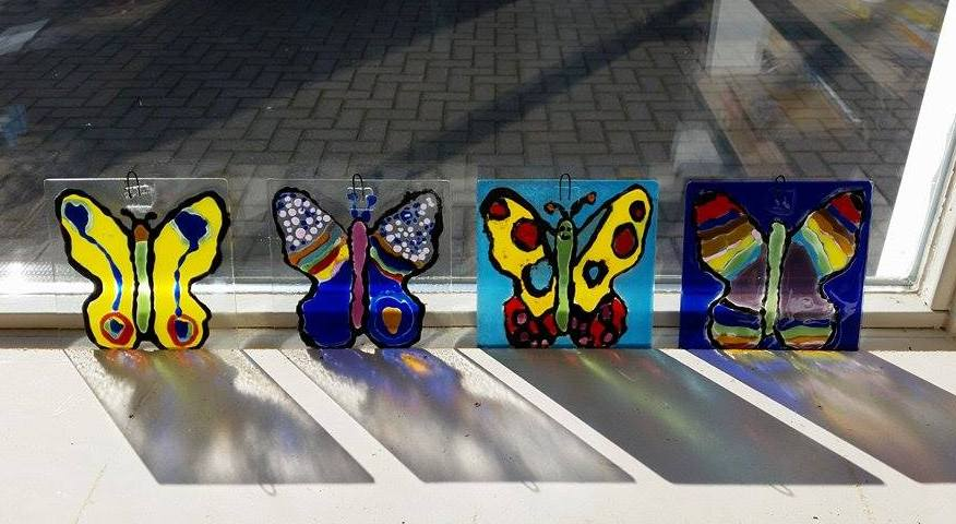 Creatief bij Mario's Glas in Lood Atelier