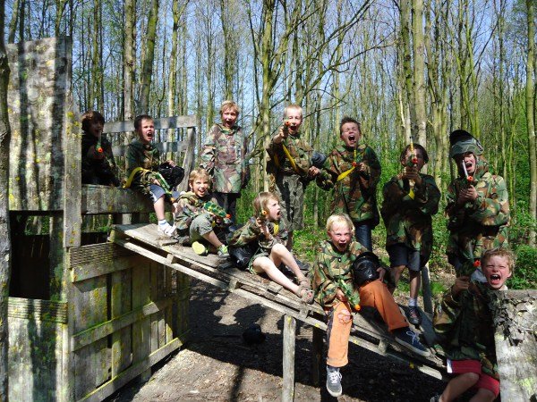 Paintball in Spaarnwoude