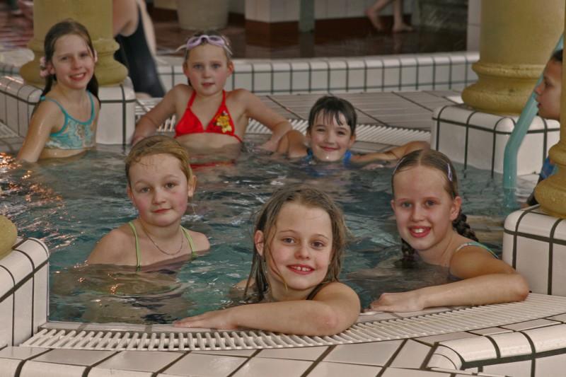 Zwemfeestje bij de Waterhoorn