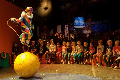 Circusfeestje bij Bon Bourgon