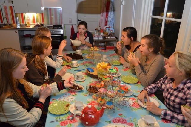 Kookfeestje bij De Kooktuin