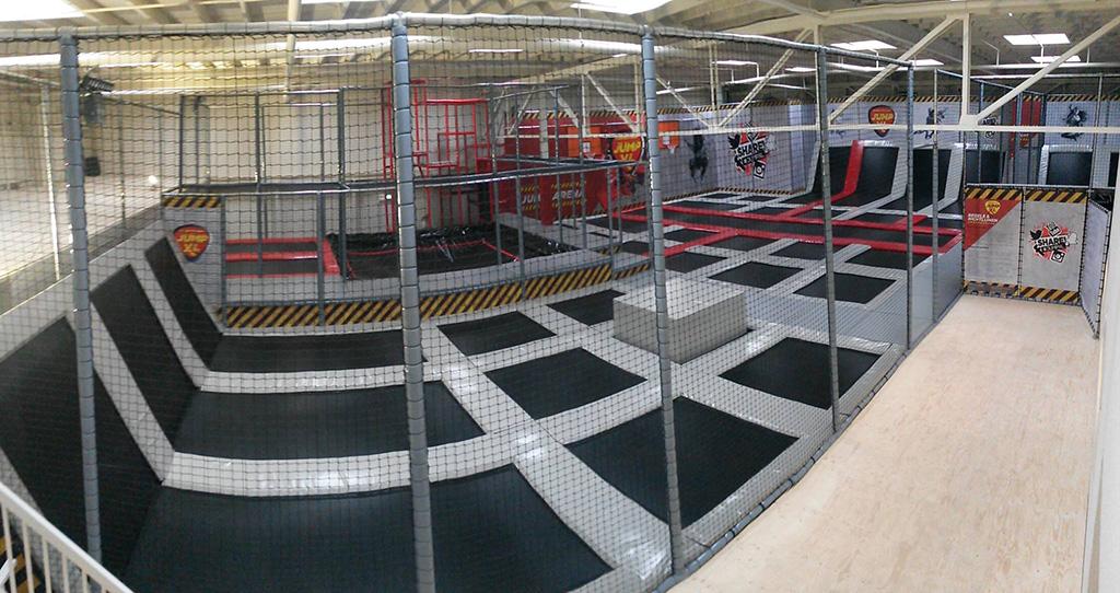 Trampolinepark Jump XL