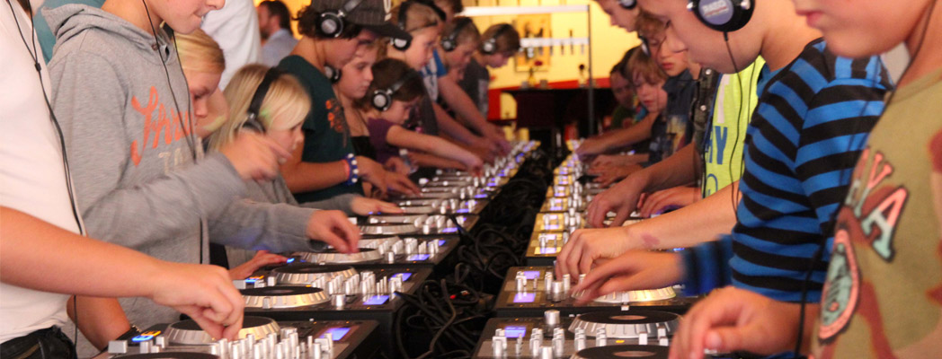Kidz-dj Workshop in Den Bosch