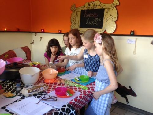 Kookfeestje bij Kinderkeuken Rotterdam