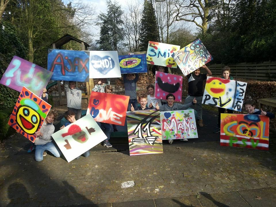 Creatief feestje bij Pip for kids