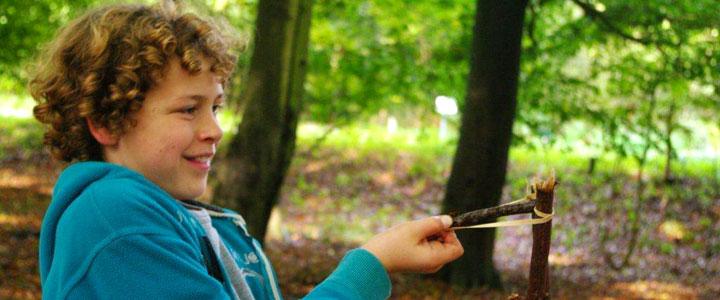 Kinderfeestjes in de natuur