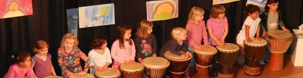 Creatieve feestjes bij Scholen in de Kunst