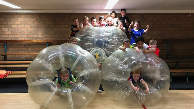 Bubbelbal in Den Bosch