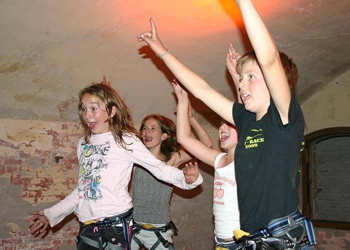 Avontuurlijk feestje bij Forteiland