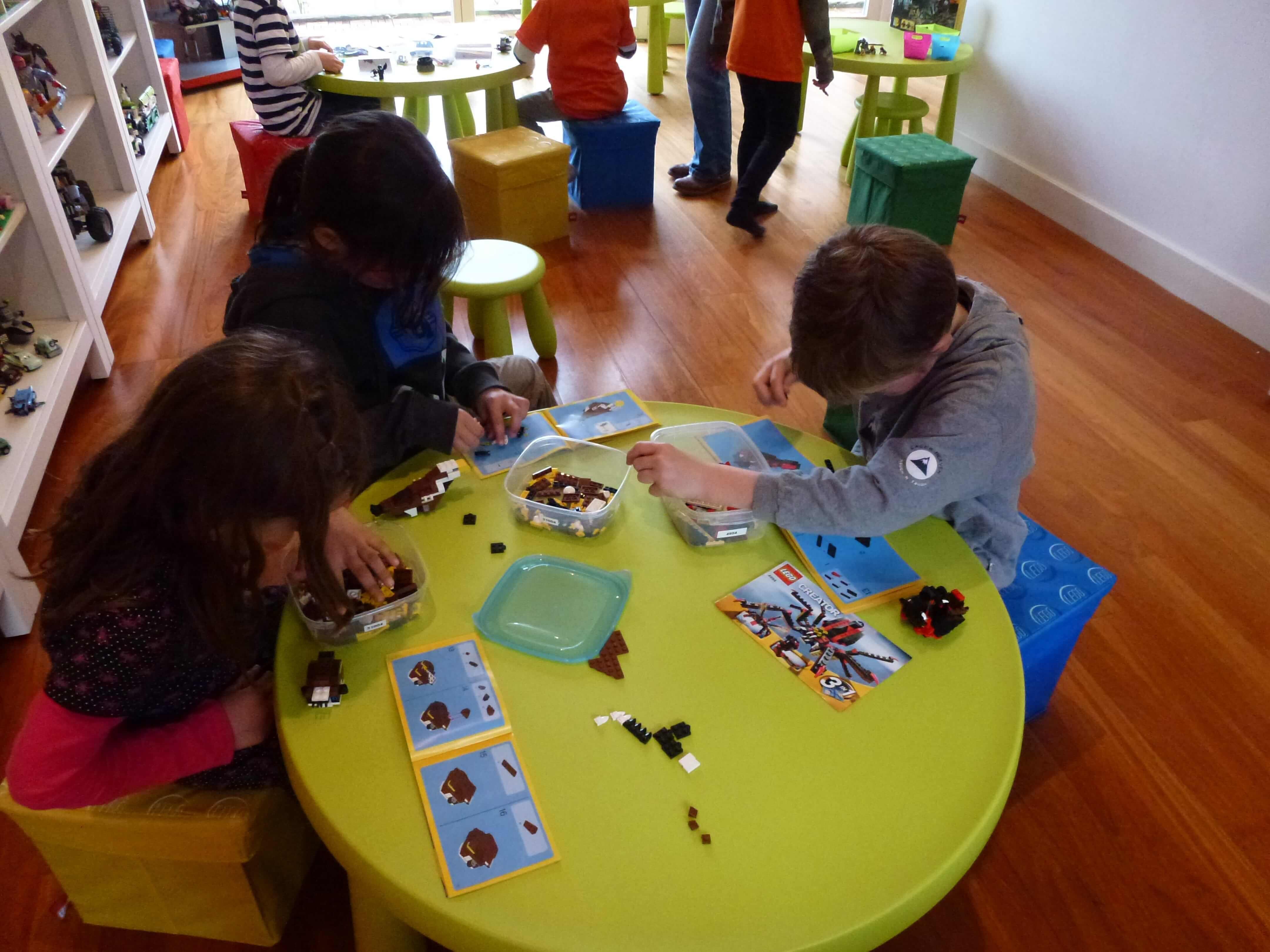 LEGO-feestje bij De Bonte Bouwplaats