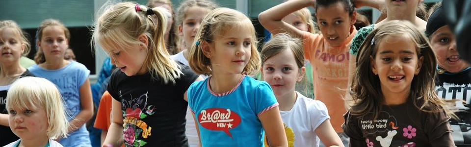 Dansfeestje bij Sport4Kidz