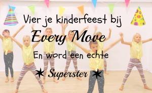 Dansfeestje bij Every Move