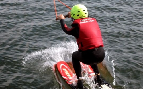 Watersport bij Skeef