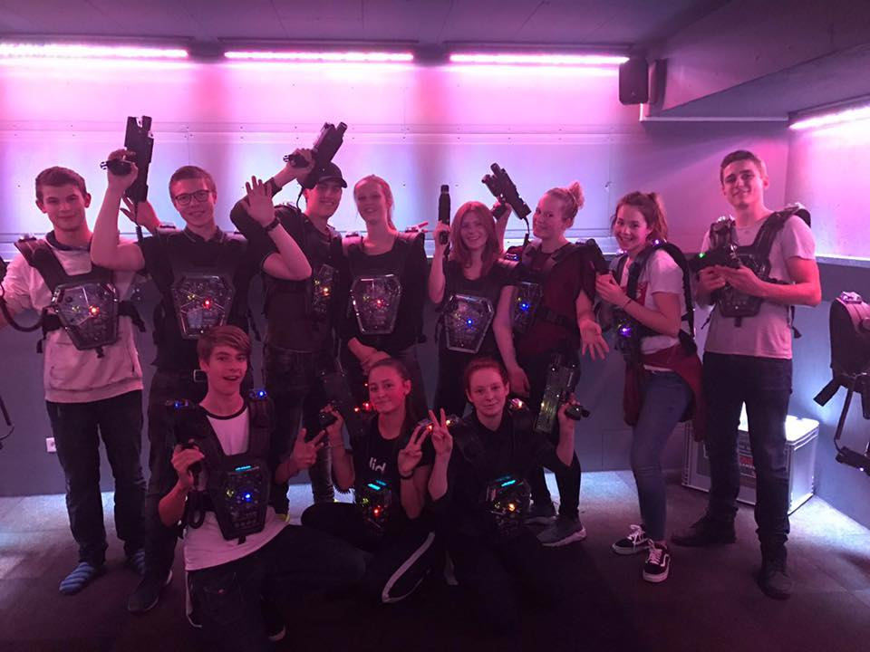 Lasergamen bij Fun Center Amstelveen