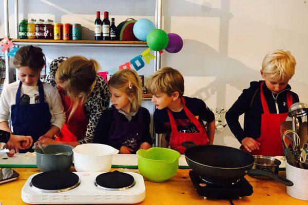 Kinderkookfeestje bij Happy Melons